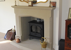 Sandstone Fireplace natural stone fireplaces sheffield | harris quarries